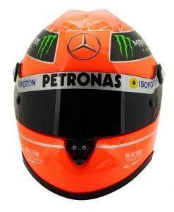 Michael Schumacher Final Helmet GP Formula 1 2012 12 1