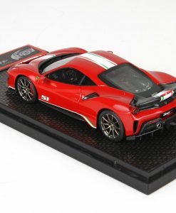BBr 1 43 Ferrari 488 Pista Piloti Ferrari Rosso Corsa 322 retro