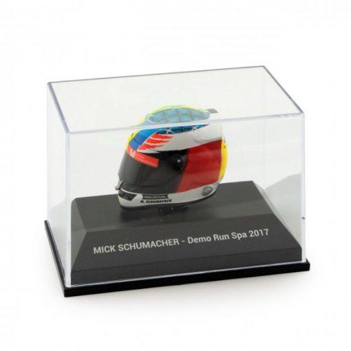Mini Helmet 18 Mick Schumacher Belgium Gp 2017