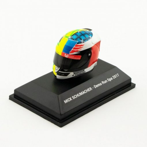 Mini Helmet 18 Mick Schumacher Belgium Gp 2017 3