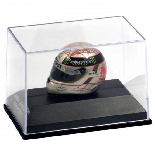 Mini helmet 18 Michael Schumacher Replica Helmet 300th GP SPA 2012