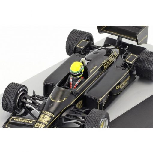 Modellino Atlas 143 Ayrton Senna Lotus 97T 12 Winner Portugal GP F1 1985 5