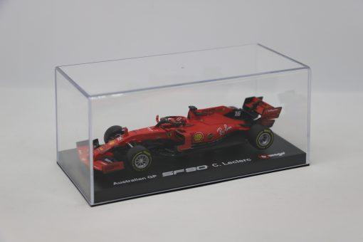Bburago Signature Ferrari Charles Leclerc F1 SF90 Die cast 143 2019 2