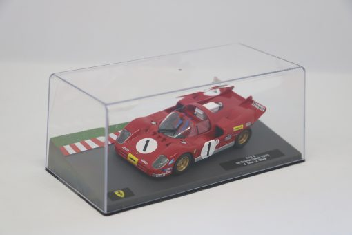 Altaya 143 Ferrari 512 S 6h Brands Hatch 1970 J. Ickx 2