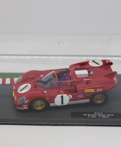 Altaya 143 Ferrari 512 S 6h Brands Hatch 1970 J. Ickx