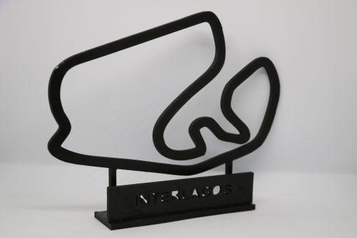 F1 Race track INTERLAGOS Brasil GP 24x20cm 2