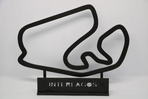 F1 Race track INTERLAGOS Brasil GP