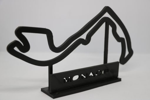 F1 Race track MONACO 27x17 cm 3