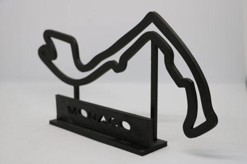 F1 Race track MONACO 27x17 cm 4