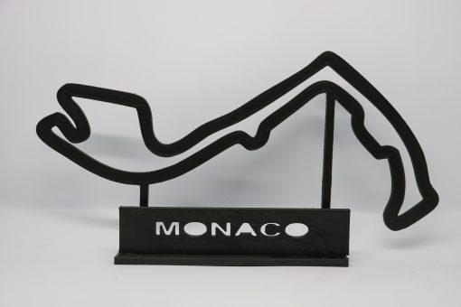 F1 Race track MONACO 27x17 cm