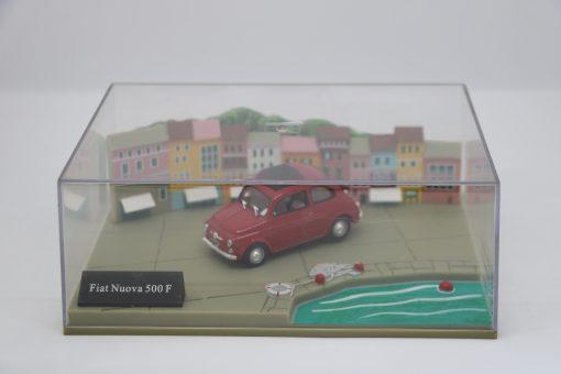 Hachette 143 Fiat Nuova 500 F DIORAMA 1