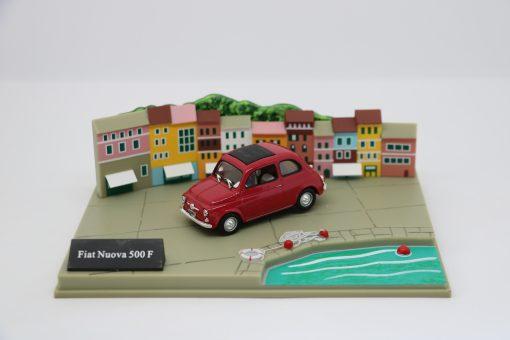 Hachette 143 Fiat Nuova 500 F DIORAMA