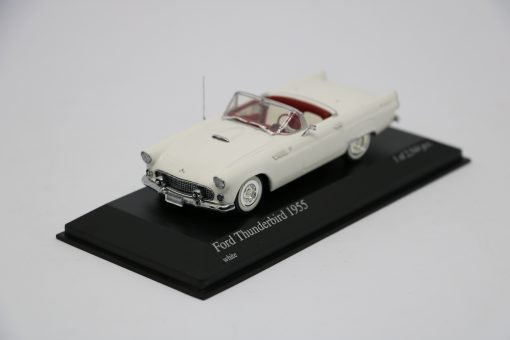 Minichamps 143 Ford Thunderbird 1955 white