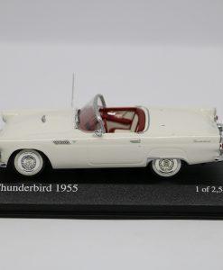 Minichamps 143 Ford Thunderbird 1955 white 1