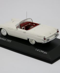 Minichamps 143 Ford Thunderbird 1955 white 2
