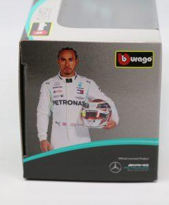 Bburago 143 Mercedes F1 W10 Lewis Hamilton 44 Die Cast 2