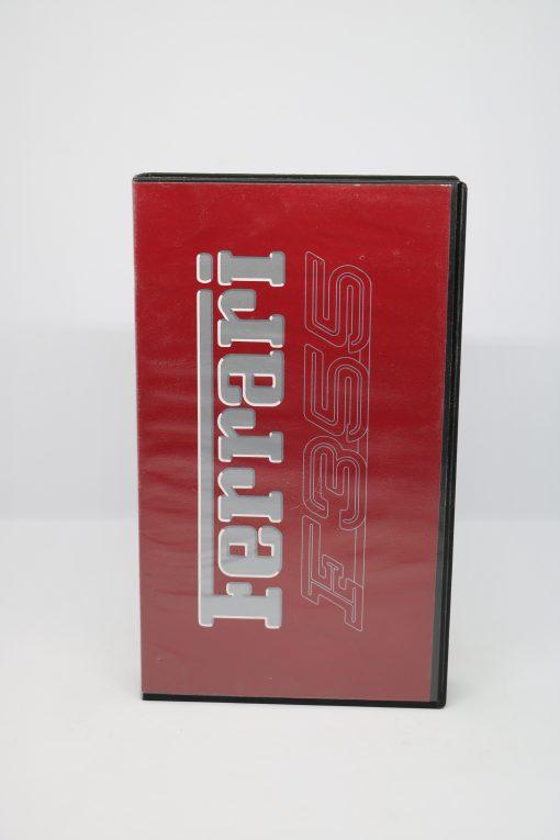 Videocassetta VHS Ferrari F355 berlinetta
