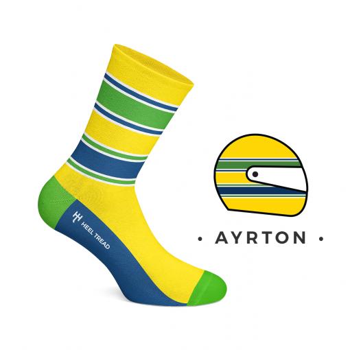 Ayrton Senna Calzini
