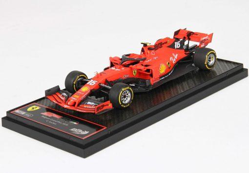 BBR 143 Ferrari SF90 Belgium GP 2019 Winner C. Leclerc