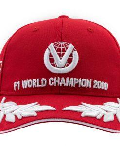 Cappellino Michael Schumacher World Champion 2000 Limited Edition 7