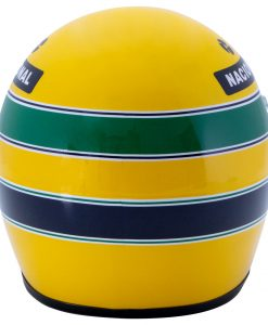 Mini Helmet Ayrton Senna Formula Uno 1994 Williams Renault scala 12 retro