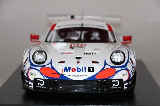 Modellino Spark 112 Porsche 911 RSR Winner GTLM class Petit 24h Le Mans 2018 5