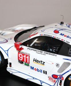Modellino Spark 112 Porsche 911 RSR Winner GTLM class Petit 24h Le Mans 2018 dettaglio