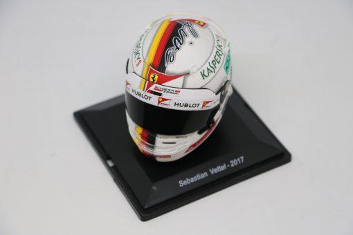 Spark 15 Mini Helmet Sebastian Vettel Ferrari 2017 Die Cast 1