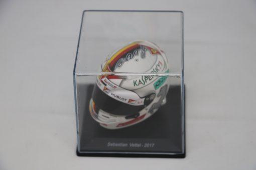 Spark 15 Mini Helmet Sebastian Vettel Ferrari 2017 Die Cast 4